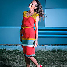 Šaty - Retro šaty - 8273381_