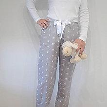 Pyžamy a župany - Pyžamové kahoty s hvězdami - 8272847_
