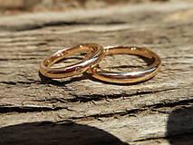 Prstene - Obrúčky vysoké s kamienkom - 8272969_