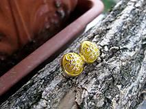 Zlaté napichovačky  (Žlto zlaté horčicové napichovačky č.966)