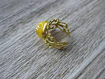 Prstene - Filigránový prsteň - 8272447_