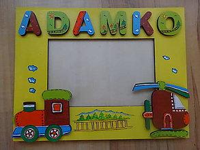 Rámiky - rámik  traktorový sen - 8272945_