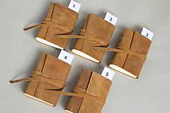 Papiernictvo - Kožený zápisník Hugo - 8272522_