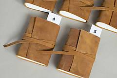 Papiernictvo - Kožený zápisník Hugo - 8272523_