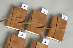 Papiernictvo - Kožený zápisník Hugo - 8272524_
