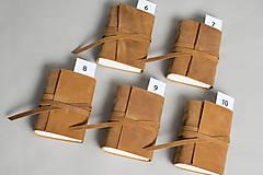 Papiernictvo - Kožený zápisník Hugo - 8272525_