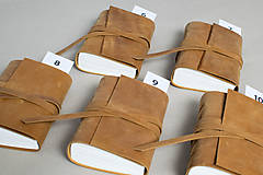 Papiernictvo - Kožený zápisník Hugo - 8272529_