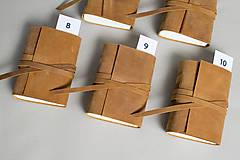 Papiernictvo - Kožený zápisník Hugo - 8272530_