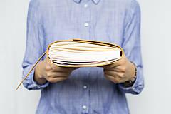 Papiernictvo - Kožený zápisník Adam - 8272571_