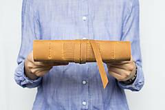 Papiernictvo - Kožený zápisník Adam - 8272577_
