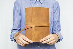 - Kožený zápisník Adam - 8272640_