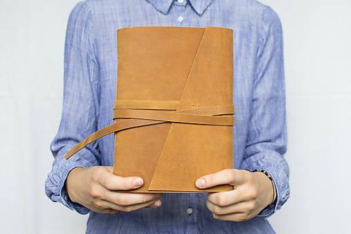 Kožený zápisník Adam