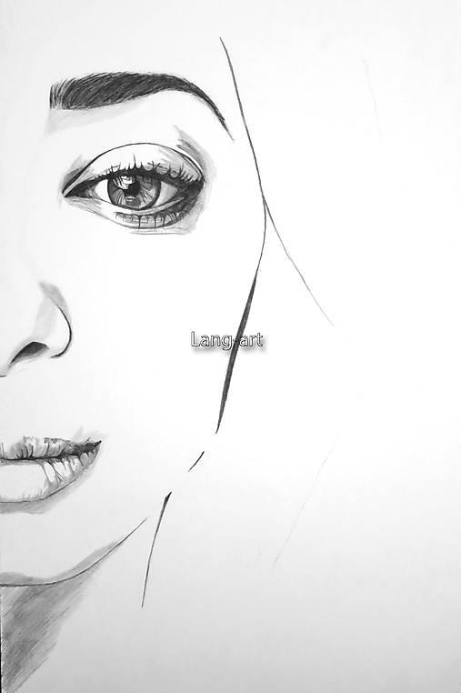 Kresby - Portrét - Minimalizmus - 8275456_