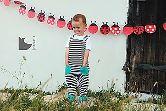 Detské oblečenie - Obojstranný overal - 8276120_