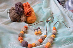 Sady šperkov - Set jesenný MIX - 8276288_
