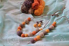 Sady šperkov - Set jesenný MIX - 8276290_