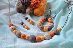 Sady šperkov - Set jesenný MIX - 8276303_