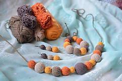 Sady šperkov - Set jesenný MIX - 8276304_