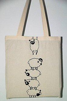 Nákupné tašky - Ovce - 8276853_