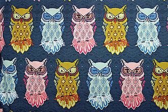 Textil - Bird of Night Slate - 8275228_