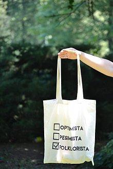 Iné tašky - Plátená Taška - Folklorista - 8276523_