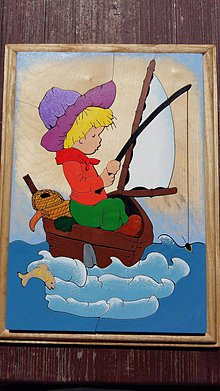 Obrázky - Chlapec na loďke - 8278157_