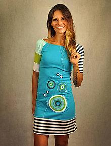 Šaty - Šaty Azúrové pobrežie - 8275418_