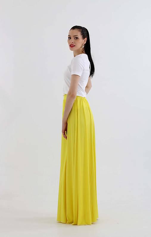 8c7be7230d48 Dlhá sukňa bright yellow ZĽAVA!!!   ZuzanaZachar - SAShE.sk ...