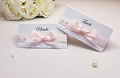 Papiernictvo - Svadobné tlačoviny Pearl - 8280181_