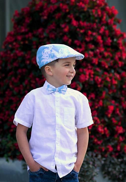 Detské čiapky - Bekovka a motýlik - 8278621_