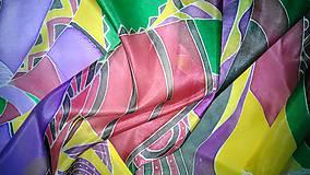 """Šály - Šál hodvábny """"Africa"""" - 8278443_"""
