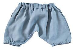 Detské oblečenie - Háremky TEO sivé - 8279694_