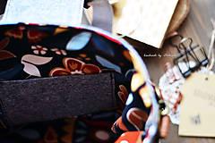 Veľké tašky - Folk šopr bag V. - 8281249_