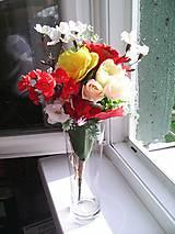 """Dekorácie - Kytička kvetov """"...žiarivá..."""" - 8279261_"""