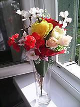 """Dekorácie - Kytička kvetov """"...žiarivá..."""" - 8279262_"""