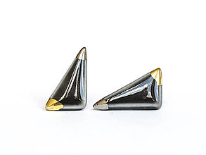 Náušnice - nežná geometria - 8279482_