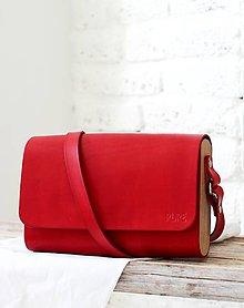 Kabelky - Kabelka na rameno CLUTCH RED - 8279330_