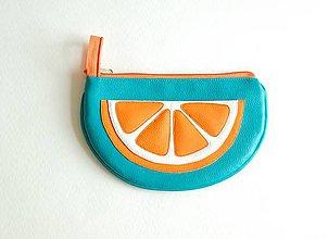 Taštičky - Ovocná taštička pomarančová - 8278769_