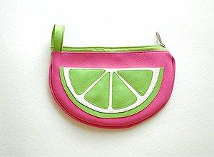 Taštičky - Ovocná taštička limetková - 8278876_