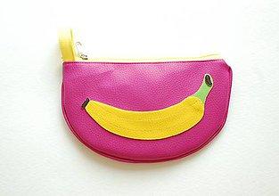 Taštičky - Ovocná taštička banánová - 8278933_
