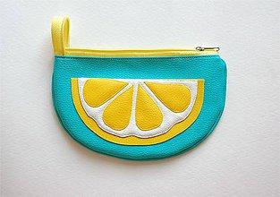 Taštičky - Ovocná taštička citrónová - 8278945_