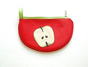 Taštičky - Ovocná taštička jablková prierez - 8278960_