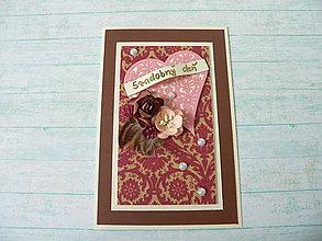 Papiernictvo - Pohľadnica - svadobný deň - 8279197_