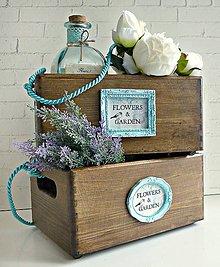 Nádoby - Flowers & Garden debničky - 8280602_