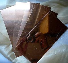 Iný materiál - Medená tabuľka 0.8 mm - 8279014_