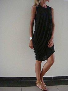 Šaty - - ŠATY s riasením v boku - - 8278463_