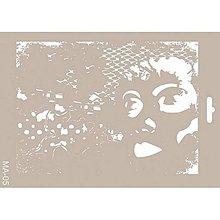 Pomôcky/Nástroje - Šablóna MA-05, 21x30 cm. - 8283316_