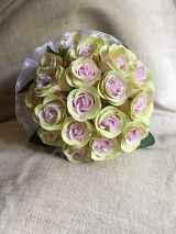 svadobná kytica ružová