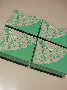 Krabičky - svadobná krabička - 8283994_