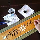 Nábytok - Ručne maľovaná truhlica